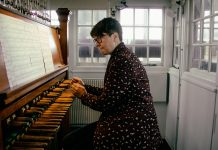 Malgosia Fiebig carillonist in Utrecht fot. Lin Woldendorp