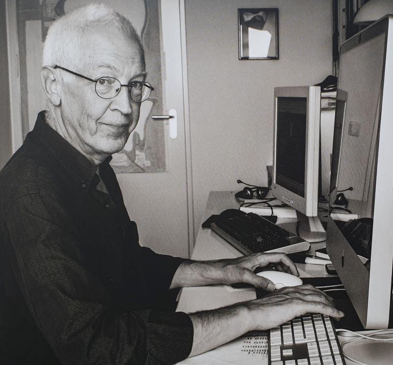 Marek Sapinski tworca Wyspy fot. z ksiazki Wyspa